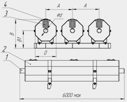 Токопроводы ТЗМПЭ напряжением  10кВ на токи 3150, 3600 А
