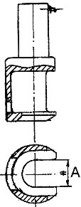 Съемник рулевых тяг, схема.