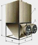 Компактные вентиляторные градирни ГРД