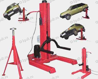 Как сделать подъёмник для автомобиля своими руками
