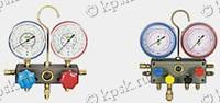 Двухвентильные манометрические коллекторы предназначены для измерения давления в контурах системы кондиционирования
