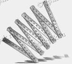 Метр складной металлический хромированный ТУ 3936-034-00220836-98