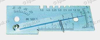 Шаблон сварщика универсальный УШС-3 (мод. 00314)