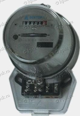 Электросчетчик однофазный индукционный ВЕКТОР 1